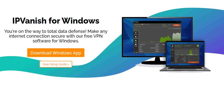 ipvanish- windows